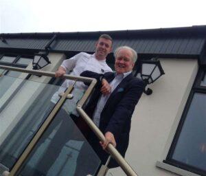 Knowes Hotel Owner Wayne Stewart MSP Stewart Stevenson