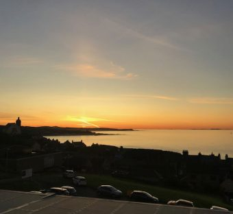 The Knowes Hotel and Restaurant Macduff Aberdeenshire Sunset